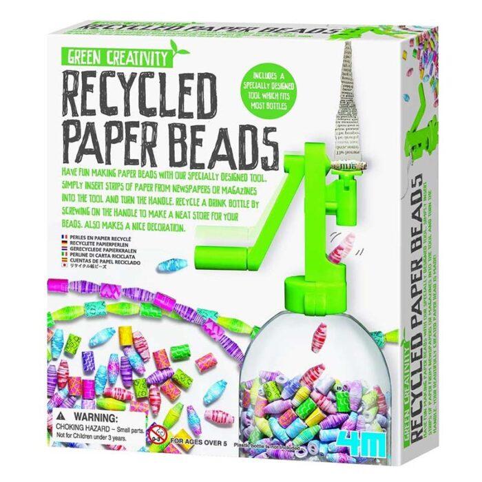 Образоватерен комплект Recycled Paper Beads Маниста от хартия кутия