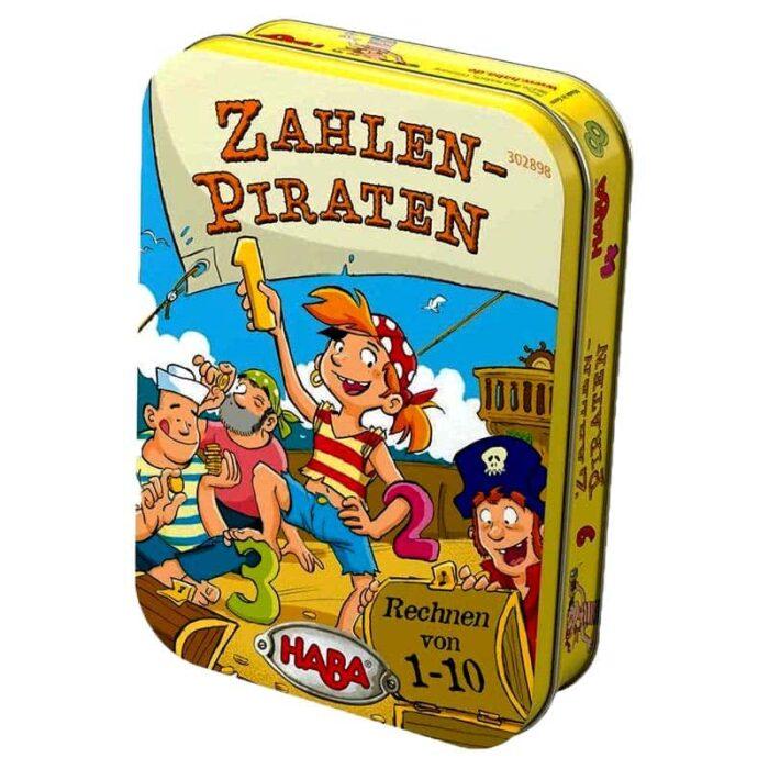 Образователна игра Числата на пиратите кутия HABA