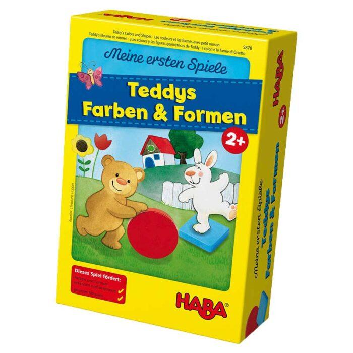 Образователна игра Форми и цветове на Теди кутия HABA