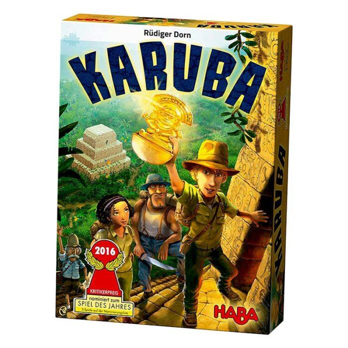 Образователна игра Каруба кутия HABA