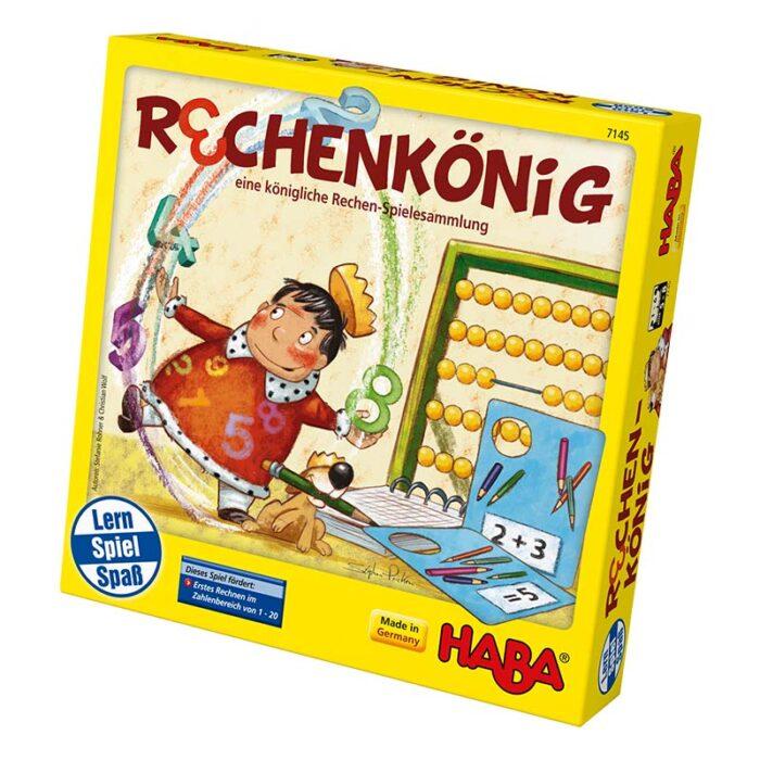 Образователна игра Кралят на пресмятането кутия HABA