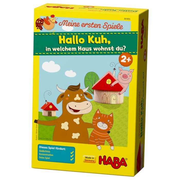 Образователна игра Криеница кутия HABA