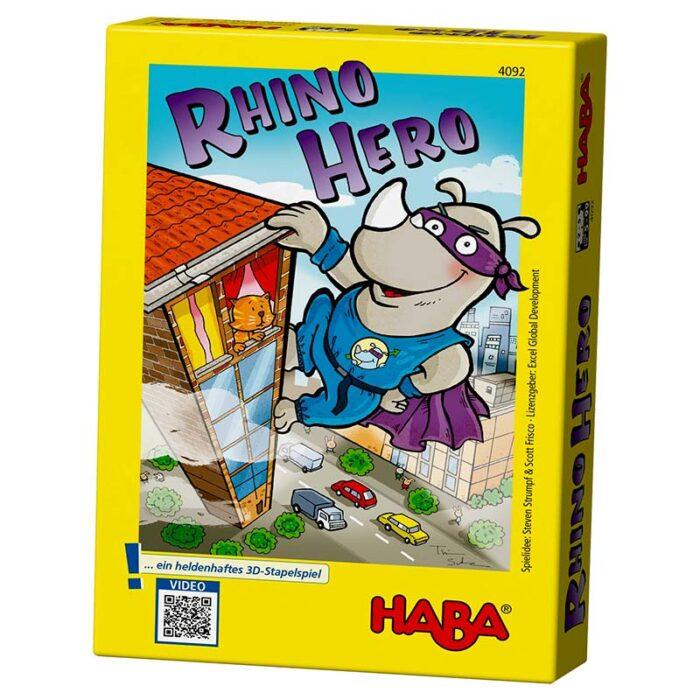 Образователна игра Носорог герой кутия HABA