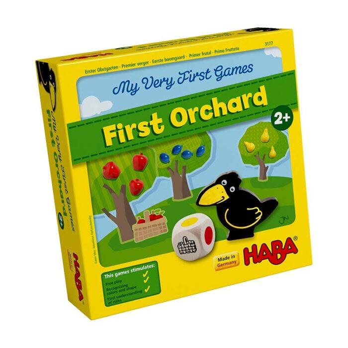 Образователна игра Първа овощна градина кутия лице HABA