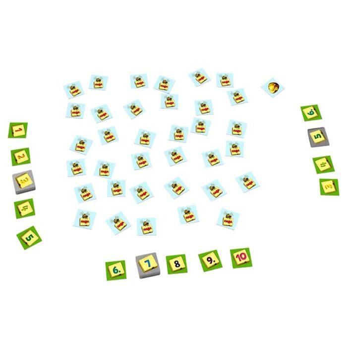 Образователна игра Поредност на числата карти с числа HABA