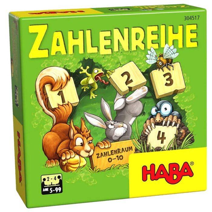 Образователна игра Поредност на числата кутия лице HABA