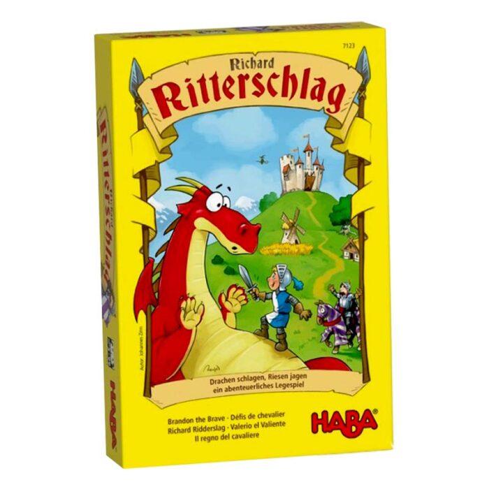 Образователна игра Смелият рицар кутия лице HABA