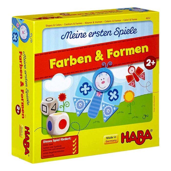 Образователна игра Цветове и форми кутия HABA