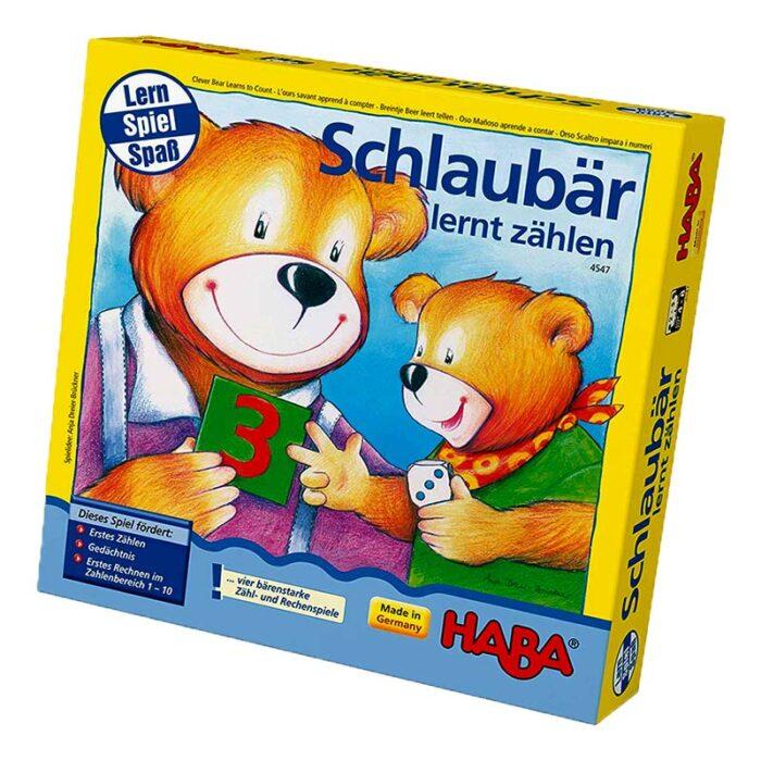 Образователна игра Умното мече кутия HABA