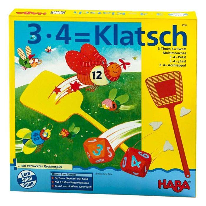 Образователна игра Умножение кутия HABA