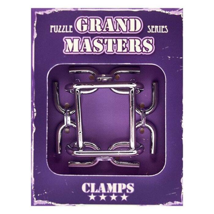 Метален пъзел Grand Master лилав кутия лице