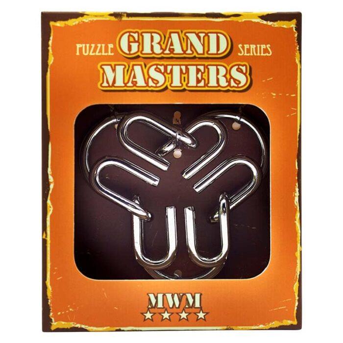 Метален пъзел Grand Master оранжев кутия лице