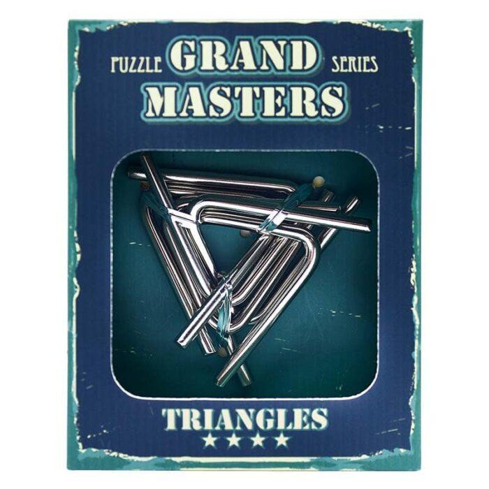 Метален пъзел Grand Master Синя кутия лице