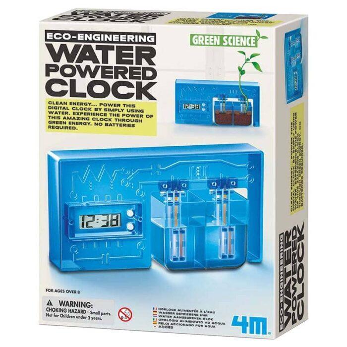 Образователна игра 4M Воден часовник кутия лице