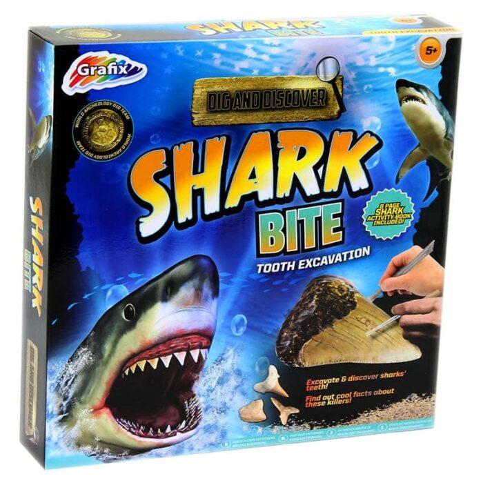 """Образователна игра Grafix """"Изкопай зъби на акула"""""""