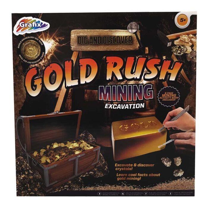 Образователна игра Grafix Златна треска