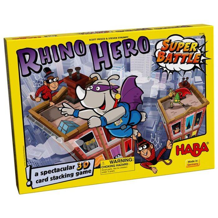 Образователна игра HABA Битката на Супер Рино