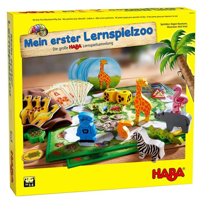 Образователна игра Зоопарк 10 в 1