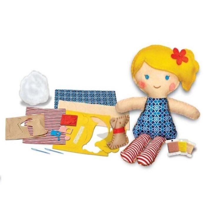 Тволческа игра Уший си кукла с кученце части