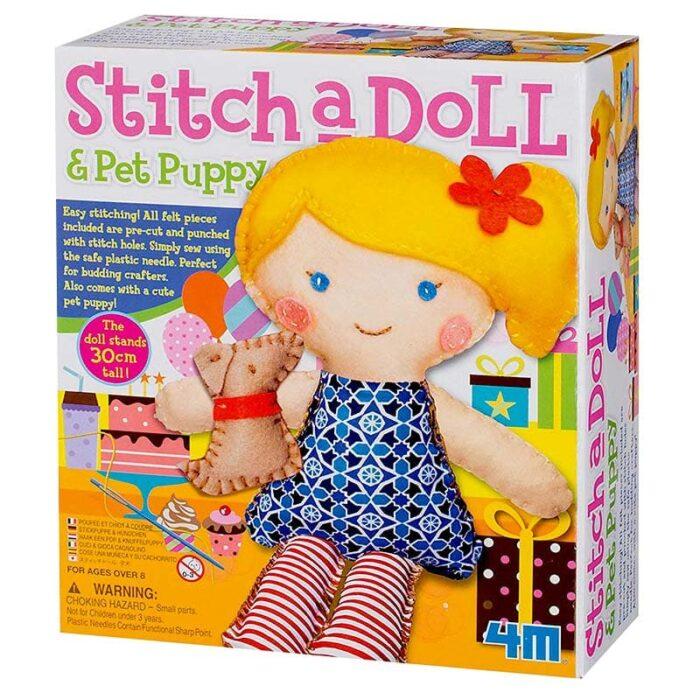 Тволческа игра Уший си кукла с кученце кутия