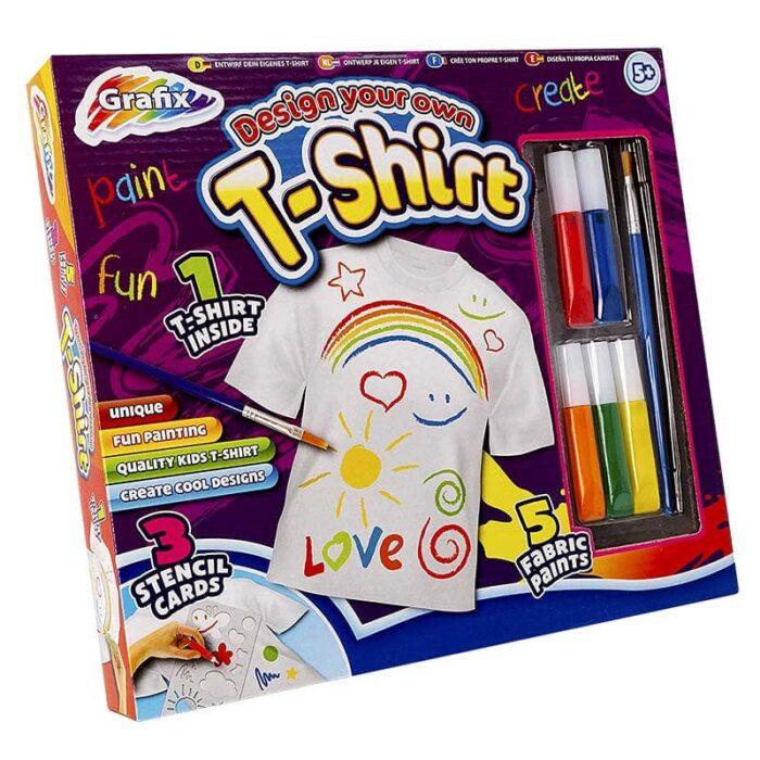 Творческа игра Grafix Оцвети тениска