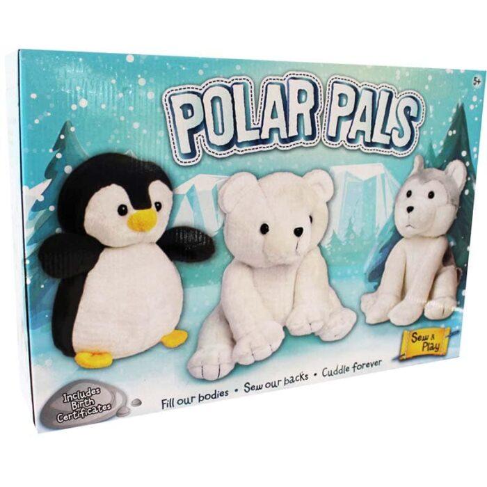 Творческа игра Grafix Ушии 3 полярни приятеля