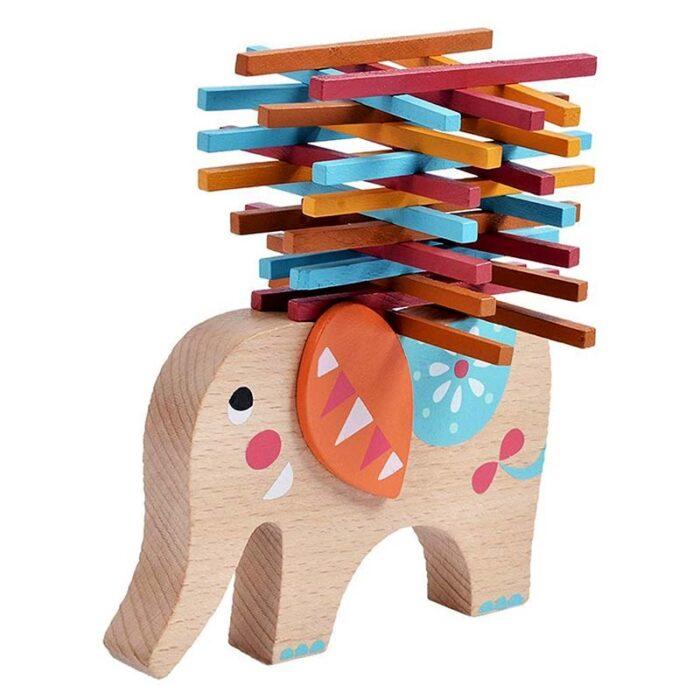 Игра за баланс Балансиращ слон балансирани клечки