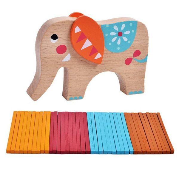 Игра за баланс Балансиращ слон клечки