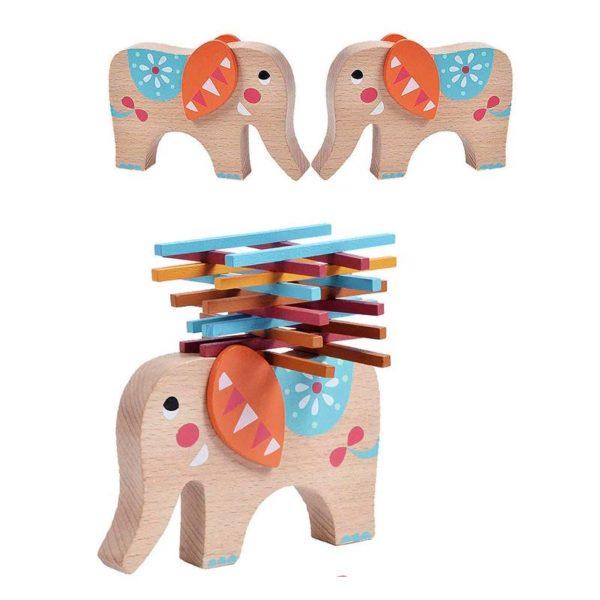 Игра за баланс Балансиращ слон с клечки