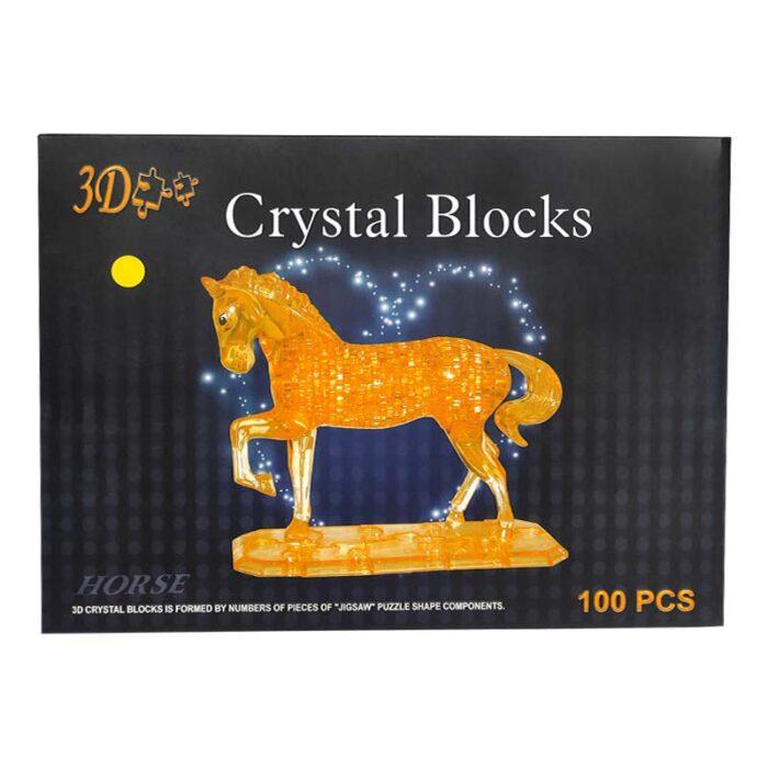 Кристален пъзел конче кутия