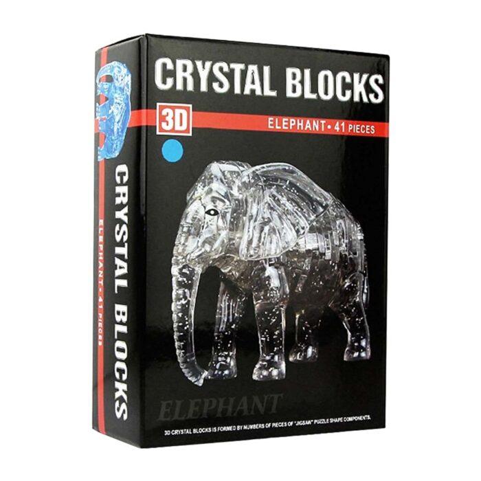 Кристален пъзел Слонче кутия