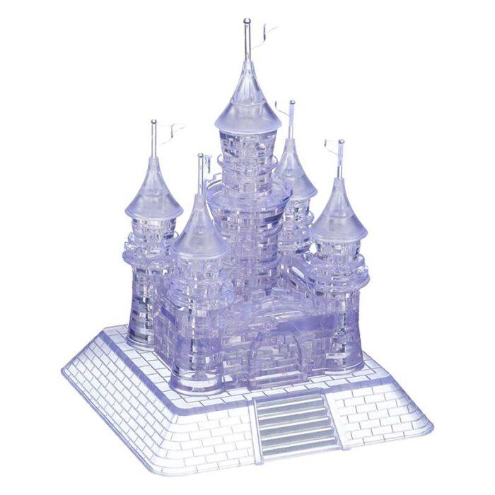 Кристален пъзел светещ замък 1