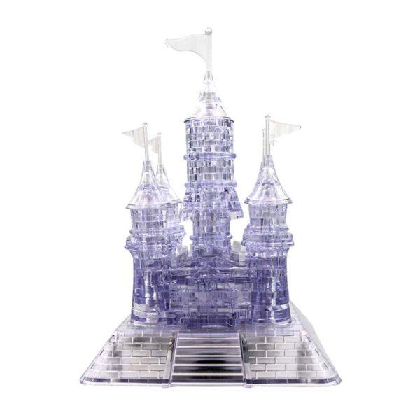 Кристален пъзел светещ замък 3