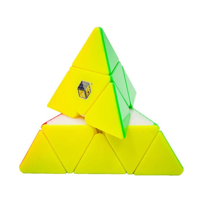 Рубик Pyraminx Yuxin Little Magic пирамида извъртяна
