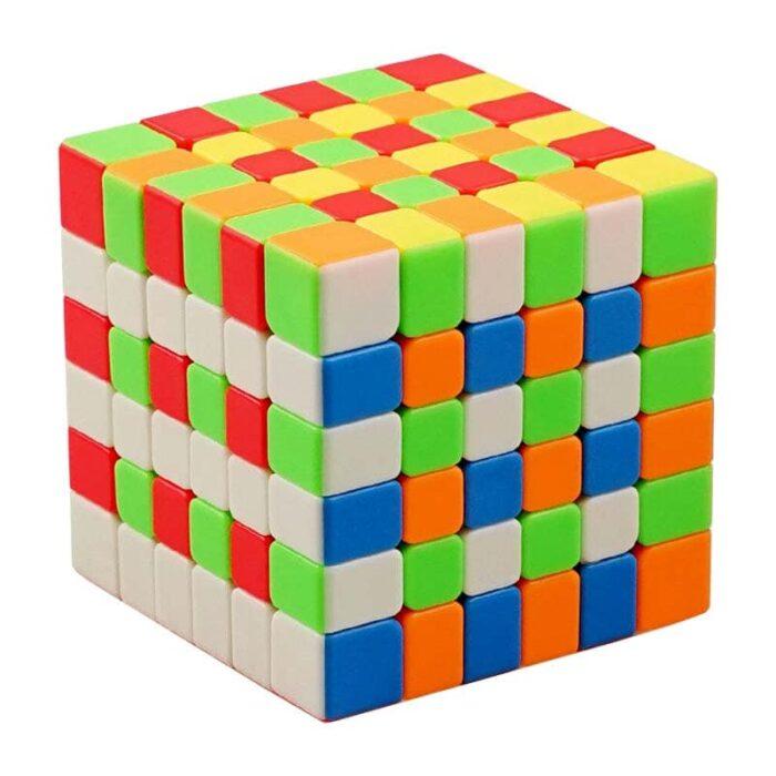 Рубик куб 6x6x6 разбъркано кубче
