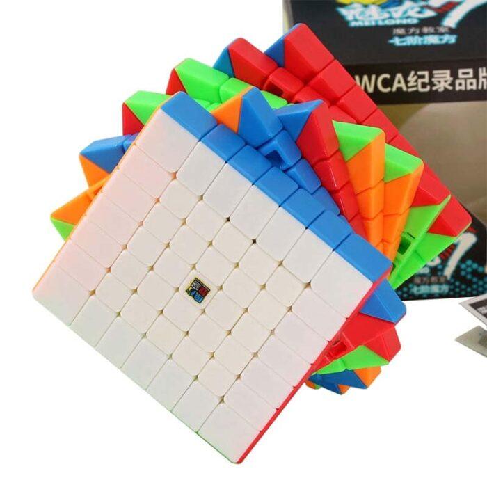 Рубик куб 7x7x7 MoYu Meilong кутия и кубче