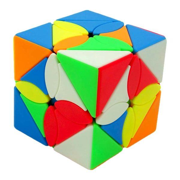 Рубик куб Maple leaf skewb кубче разбъркан