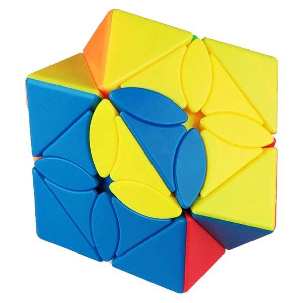 Рубик куб Maple leaf skewb кубче разбъркан център