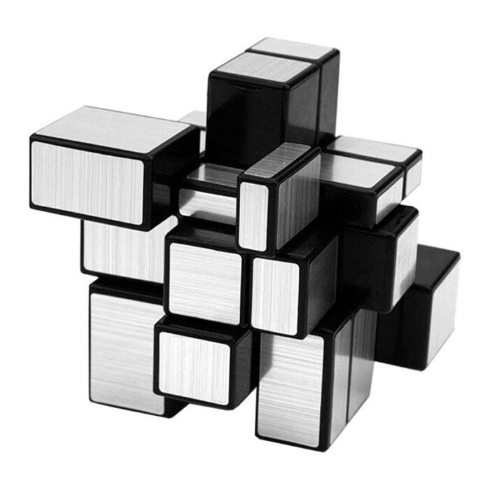 Рубик куб Mirror Cube Silver QiYi разбъркано кубче
