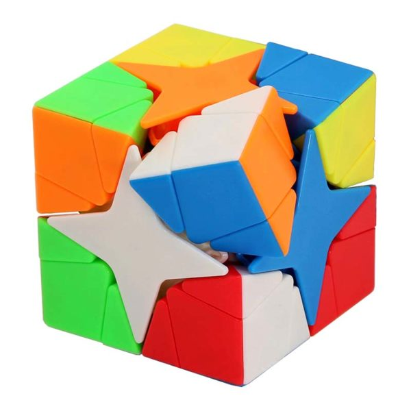 Рубик куб Porlaris MoYu Meilong завъртян и разбъркан
