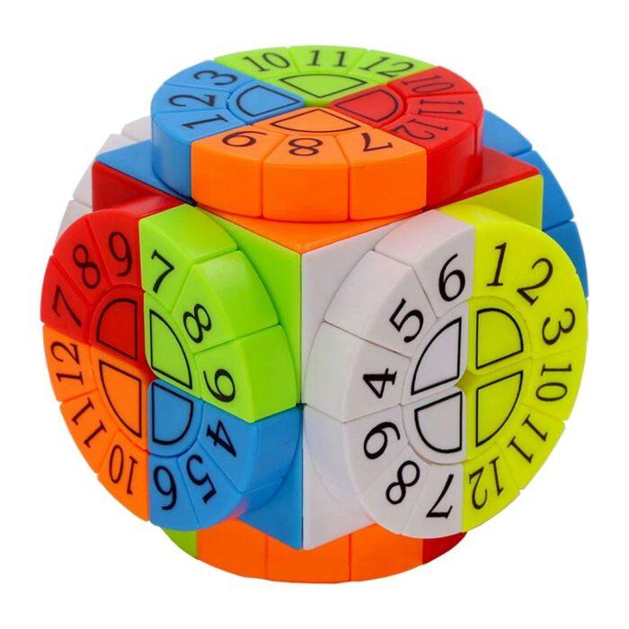 Рубик куб Time Machine разбъркан 2