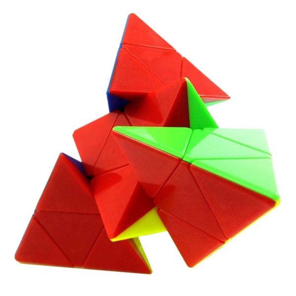 Рубик пирамида Master Pyraminx разбъркана