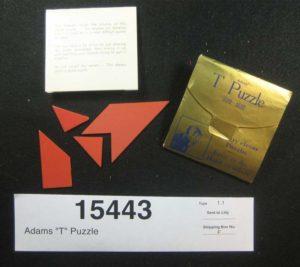 Adams T-Puzzle