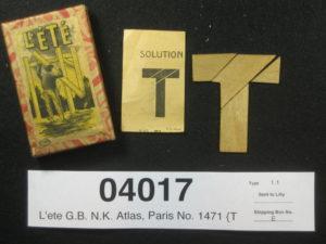 Френска версия на Т-пъзел L'ÉTÉ