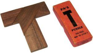 Drueke & Sons Pa's T-Puzzle
