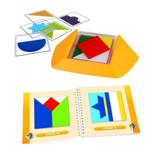 Логическа игра Color Code елементи и книжка със задачи (1)