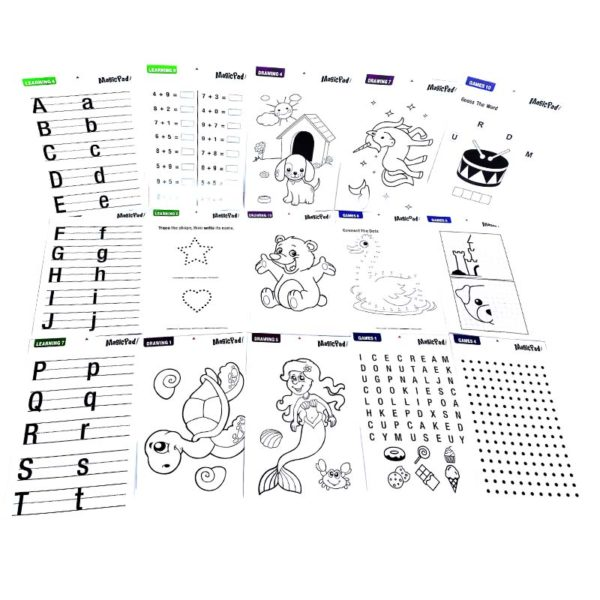 Magic Sketchpad шаблони 2