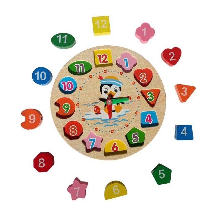 Детски образователен часовник елементи