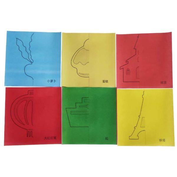 Фигурки от хартия (комплект за изрязване)