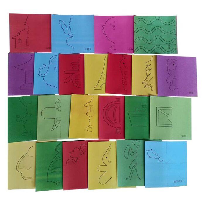 Фигурки от хартия (комплект за изрязване) листове